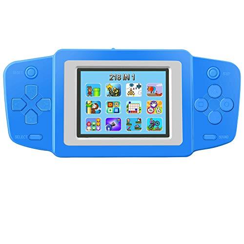 Bornkid Retro Handheld Spielkonsole für Kinder Tragbare Spiele Konsolen Eingebaut in 218 80er Klassische Alte Schule Video Spiele 2.5