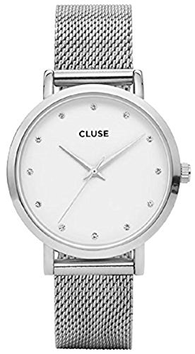 Cluse Damen-Armbanduhr Analog Quarz Edelstahl CL18301