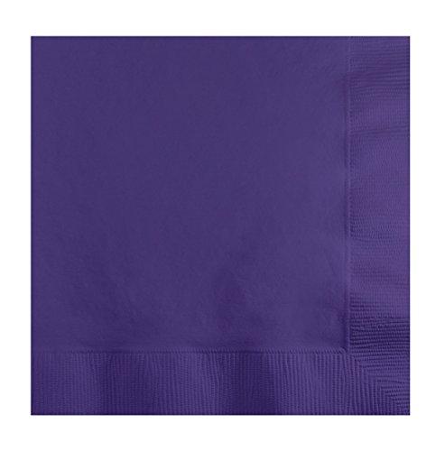 Creative Converting 50Zählen Touch von Farbe Papier Getränke Servietten, burgund violett