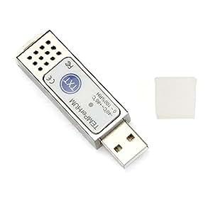 TEMPerHUM USB Thermomètre Enregistreur Testeur Température Données pour PC