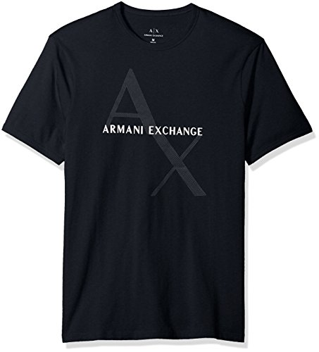 Armani Exchange Herren 8NZT76 T-Shirt, Blau (Navy 1510), Medium