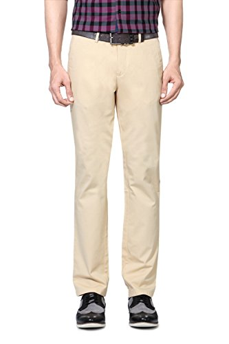 Allen Solly Men Slim Fit Pants_amtf315g01005_28_khaki