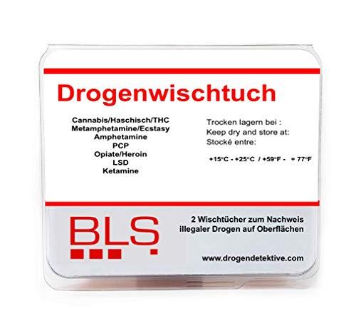 Drogentest als Oberflächen- & Wischtest - Multi Drogenschnelltest für die Bestimmung von -