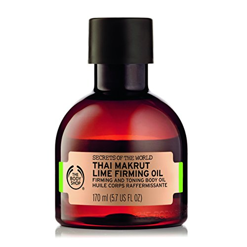 The Body Shop spa del mondo di thai Makrut lime rassodante olio per massaggi 170ml–Olio per il corpo rassodante e tonificante