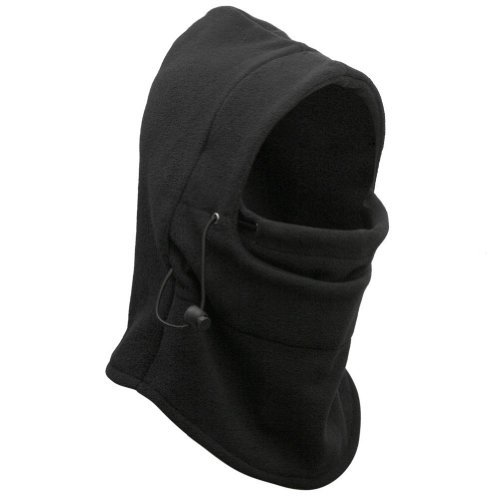 allnice Roswheel 6 in 1 Multifunctional Windproof Thermal Double Layers Thick Fleece Full Face Mask Cover (Black, 4331123645) 41umM0nurbL