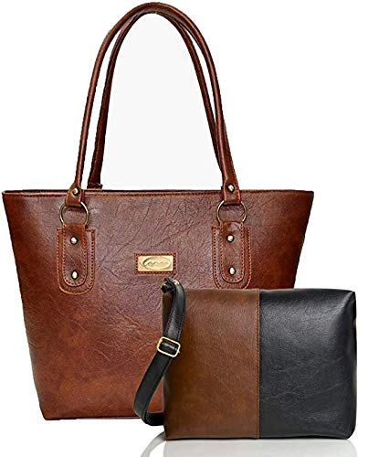 Mammon Women\'s Handbag and sling bag Combo (HS-COMBO-TB)