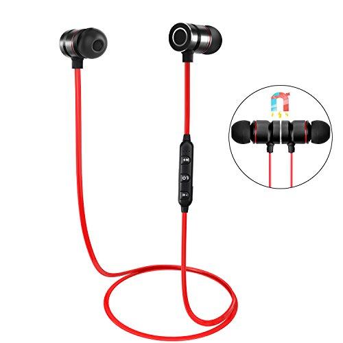 Auricolare Bluetooth, HENGKEXIN IPX4 Sweatproof Auricolari Stereo per...