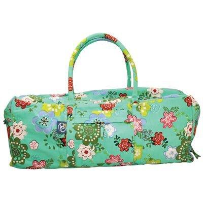 Esterilla de yoga bolsa, bolsa, bolsa de deporte, fin de semana bolsa, bolsa de deporte, bolsa de equipo, Multi bolsillos bolsa-flores