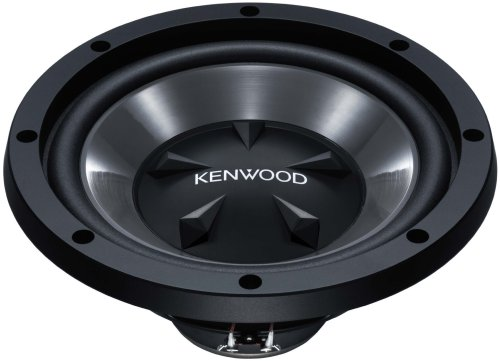 Kenwood KFC-W 112 S 300mm Subwoofer (800 Watt) schwarz Woofer-box