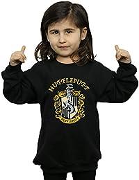 Harry Potter Niñas Hufflepuff Crest Camisa De Entrenamiento