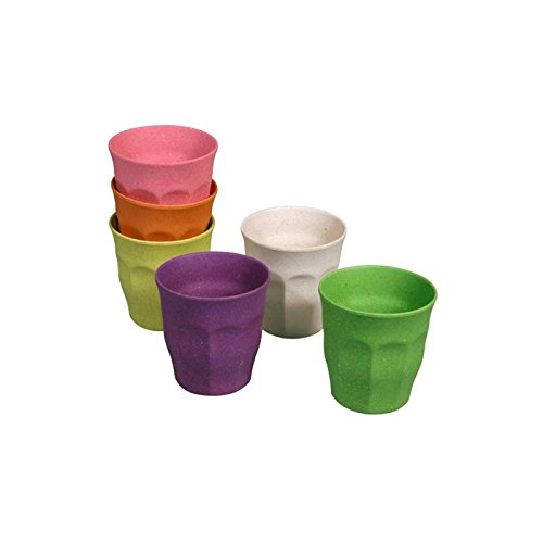 zuperzozial Color Becher 6er Set Rainbow Sortiert - 6 Becher