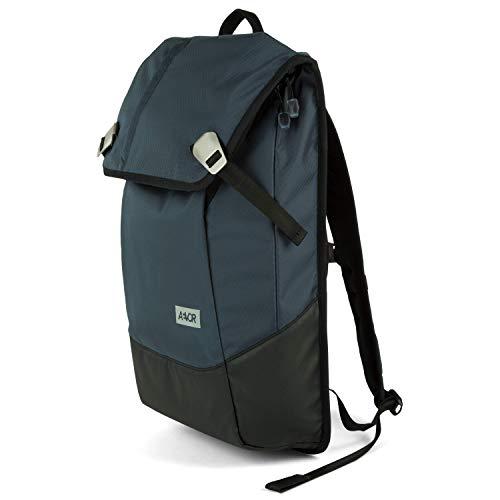 """AEVOR Daypack Rucksack - erweiterbar 18 auf 28 Liter, ergonomisch, Laptopfach 15\"""", wasserdicht, Proof Petrol"""