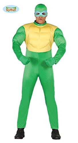Ninjas Schildkröten Kostüm - Ninja Schildkröte - Kostüm für Herren Gr. M/L, Größe:L