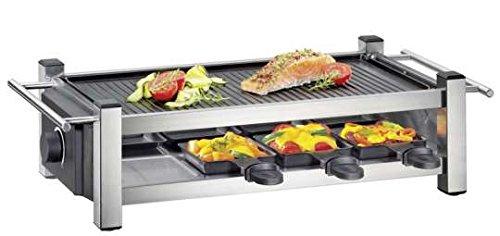 Küchenprofi 1770502800 Raclette TASTE8, Andere, Silber