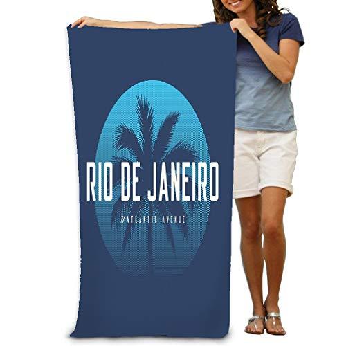 980 uiyp Bath Towel Beach Towel Rio de Janeiro Atlantic Avenue Apparel Design p Rio de Janeiro Atlantic Avenue Apparel Design 31 * 51 inch