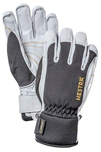Hestra Army Gore-Tex kurz Handschuhe, unisex, Black/Off White, 8