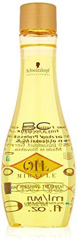 Schwarzkopf BC Bonacure Oil Miracle Light Finishing Treatment, 1er Pack, (1 x 100 ml) (Oil Bonacure)