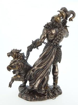 Hades der Totengott und Herrscher über die Unterwelt Figur bronziert von Mayer Chess - Du und dein Garten