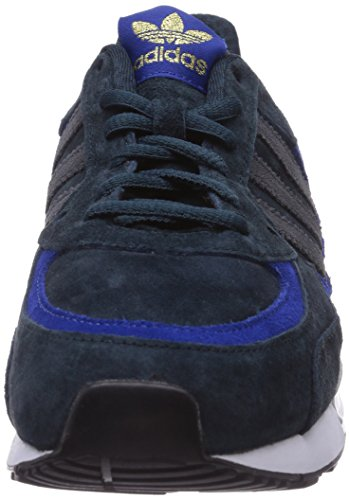 Adidas Originals Zx 850, Chaussons Sneaker Adulte Mixte Bleu (Petrol Ink S15-St/Dgh Solid Grey/Collegiate Royal)