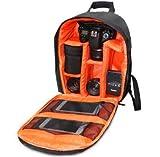 MASUNN Dl-B018 Wasserdichter Rucksack Rucksack Tasche Für DSLR Caerma- Orange