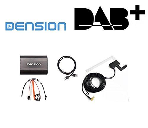 Preisvergleich Produktbild DENSION DAB+U ( DBU3GEN ) incl DAB Antenne - Universal Digitalradio DAB+ Interface für Autoradio mit werkseitig verbauten USB-Anschluss VW BMW Audi Seat Skoda Citroen