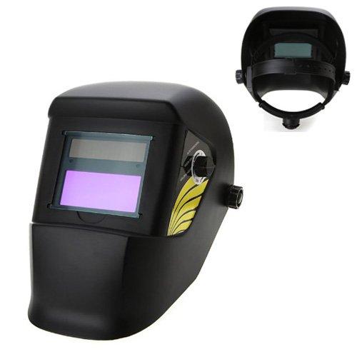 TOOGOO (R) Auto und blickdicht Helm Schweißen Maske Schweißer Arc Tig Mig Grinding Solarenergie