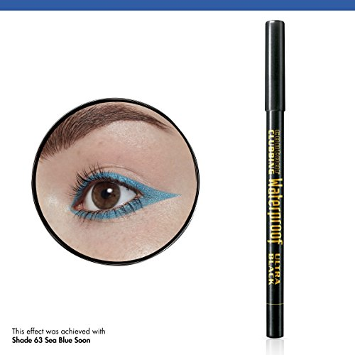 Bourjois Contour Clubbing Waterproof Eye Pencil Eyeliner and Eyeshadow 54 Ultra Black, 1.2g