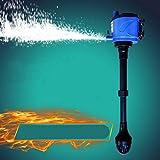 Kongqiabona Bomba de Aire del Tanque de Peces Silencioso Acuario Filtro Interno Tanque de Peces Bomba Sumergible Tanque de Peces Bomba de Aire
