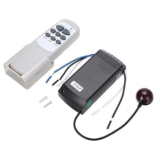Ventilador Mando a Distancia Hogar Inalámbrico Receptor Universal Ventilador de Techo Luz Interruptor...