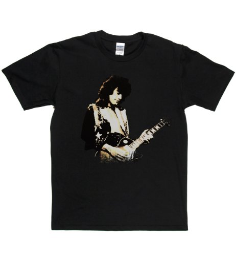 Jimmy Page Live English Hard Rock T-shirt Schwarz