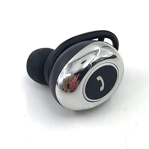 Shaveh Bluetooth Kopfhörer M55 True Stereo Wireless In-Ear ausgewogene Bass Arbeiten dauert über 8 Stunden integriertes Mikrofon, tragbar, mini, Single Ohr