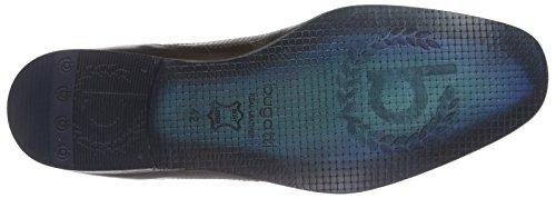 Bugatti 312107021110, Derby Homme Marron (d.braun  Blau 6140)