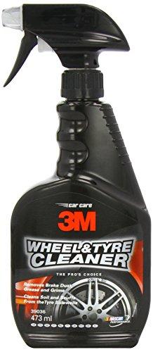 3M rueda y neumático limpiador–elimina polvo de freno, alquitrán, grasa y suciedad–1gatillo botella de Spray–473ml