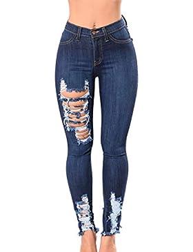 Musfeel Pantaloni attillati da donna con vita alta e un paio di pantaloni attillati