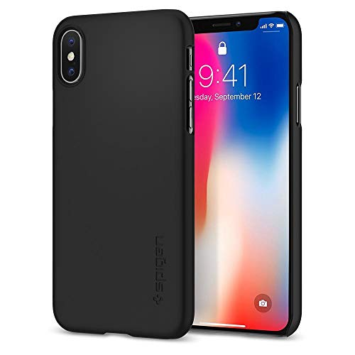 Spigen Coque iPhone X, [Thin Fit] Adhérence...