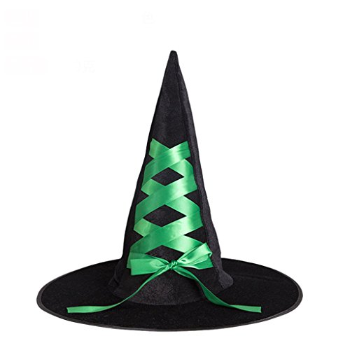 Dress Up Tanz Witch Cap Dress Up Requisiten (Farbe : Grün) ()