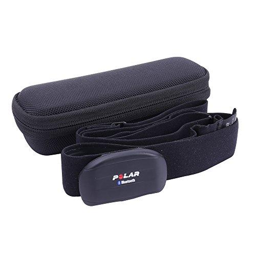 Hart Tasche Hülle für Polar H7/H10/Wearlink Herzfrequenz-Sensoren-Set/Herzfrequenzsensor Brustgurt by Aenllosi schwarz