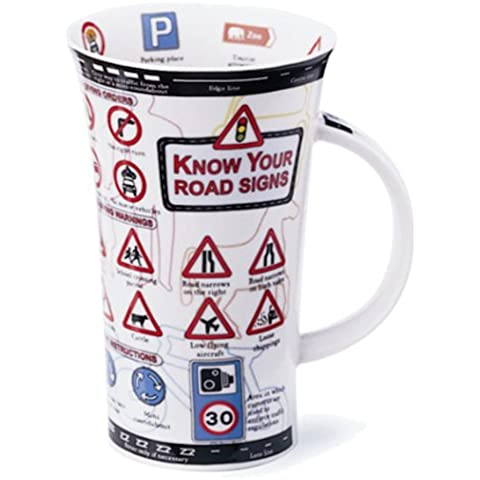 Dunoon Glencoe Mug - Know Your Road Signs by Dunoon