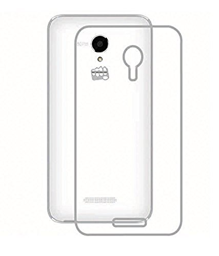 Stromax High Quality Ultra Thin Transparent Silicon Back Cover For Micromax Canvas Doodle 4 Q391  available at amazon for Rs.125
