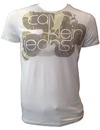 Calvin Klein T Shirt blanc col rond