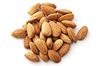 Exotes Crunchy Natural Califronia Almonds (Pack of 2x250 Grams)