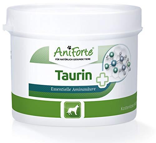 AniForte Taurin für Hunde 100g - Essentielle Aminosäure, Unterstützung des Zellstoffwechsels, Abwehrkräfte mobilisieren