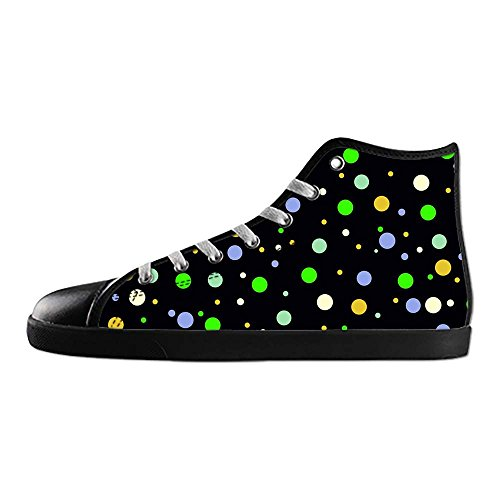 Dalliy polka dots Men's Canvas shoes Schuhe Footwear Sneakers shoes Schuhe A