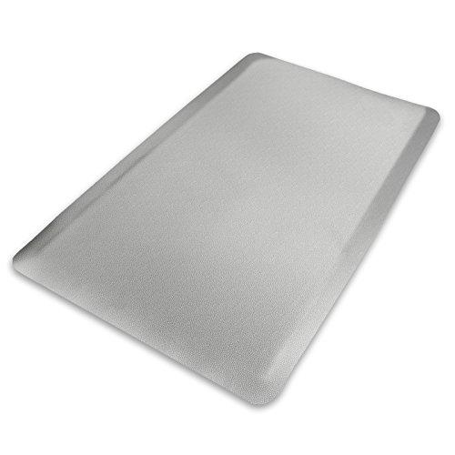 Anti-Ermüdungsmatte Heavy Duty | Arbeitsplatzmatte | Nörpel-Struktur | Grau | 90x150 cm -