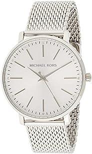 Michael Kors Pyper Women's Silver Dial Stainless Steel Analog Watch - MK