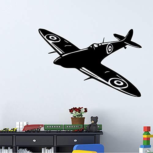 ljradj Kreative Flugzeug Vinyl Wandaufkleber Wohnkultur Stikers Für Kinderzimmer Dekoration Aufkleber WandbildL 43 cm X 65 cm