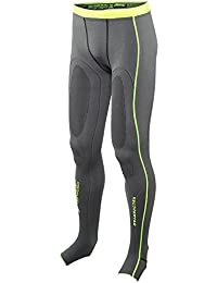 Zoot Sports Men's Ultra Recovery 2.0 CRX Tights, Graphite/Safety Yellow, 0 by Zoot