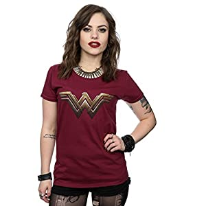 DC Comics Donna Wonder Woman Logo Maglietta 8 spesavip