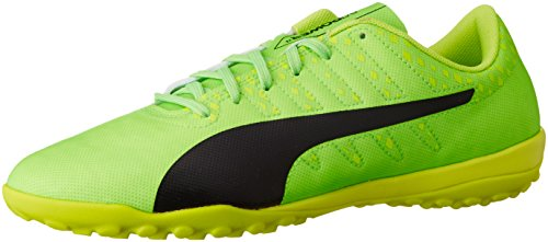 Puma Evopower Vigor 4 Tt, Scarpe Da Calcio Uomo Verde (Green Gecko-puma Black-safety Yellow 01)