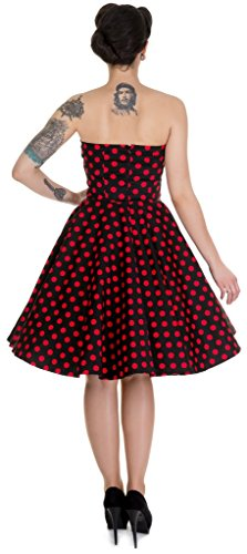 Dolly and Dotty Melissa, Abbigliamento Casual Donna Schwarz (black/red B/ah)